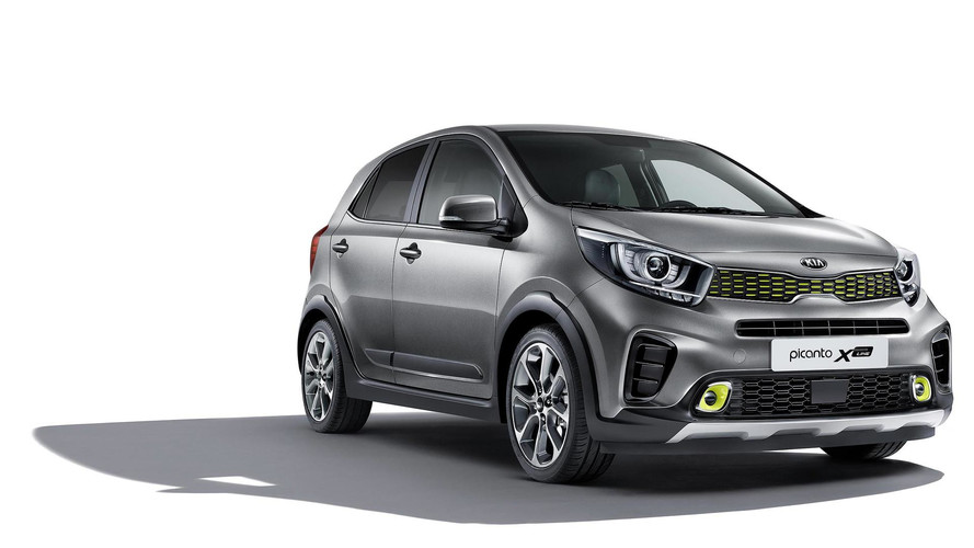 SUV-Inspired Kia Picanto X-Line Launches At Frankfurt