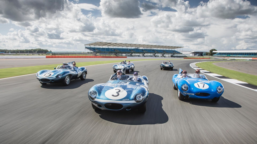 Jaguar Celebrates 60 Years Since D-Type Le Mans Dominance