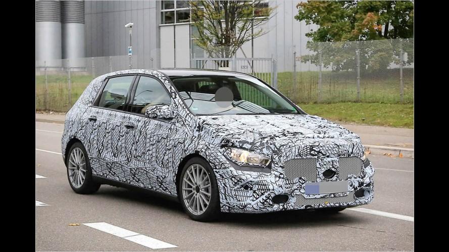 Erwischt: Mercedes B-Klasse