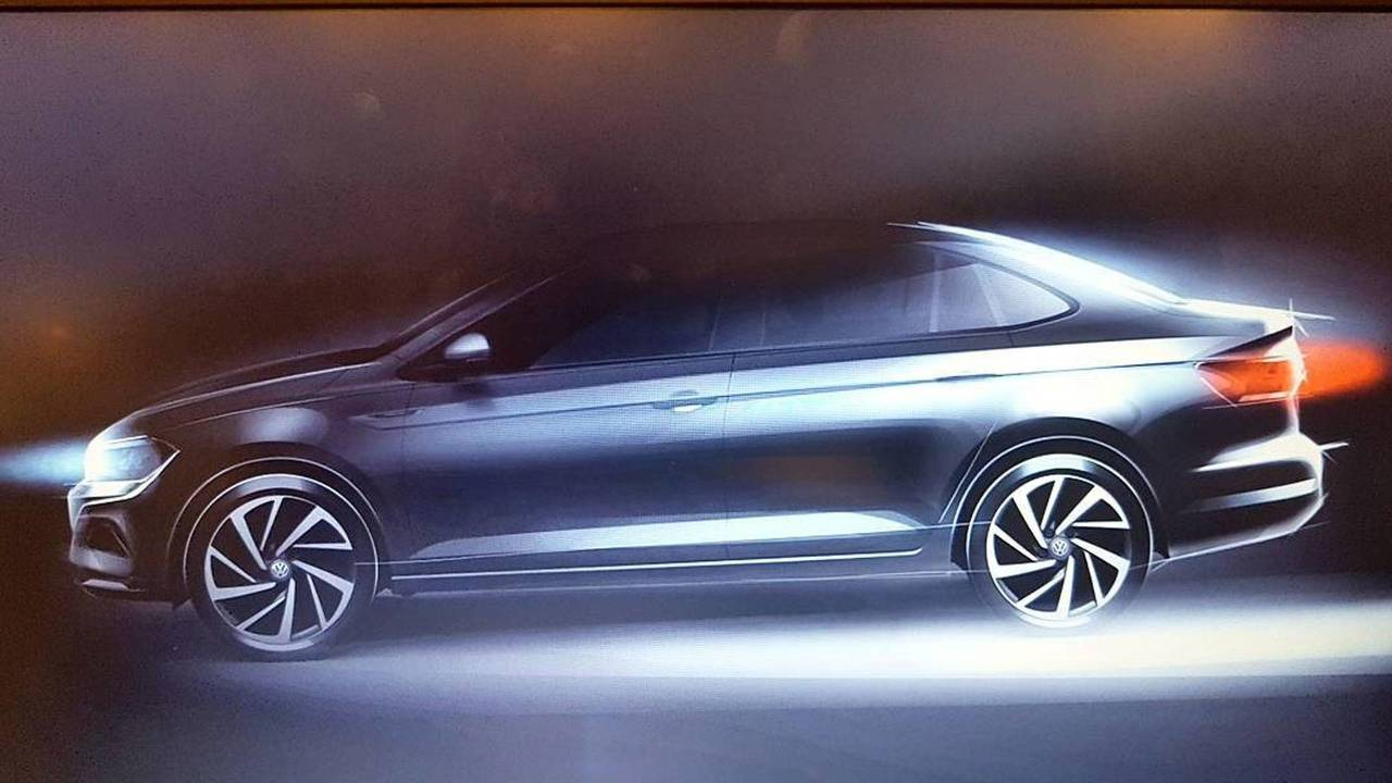 Volkswagen Virtus teaser