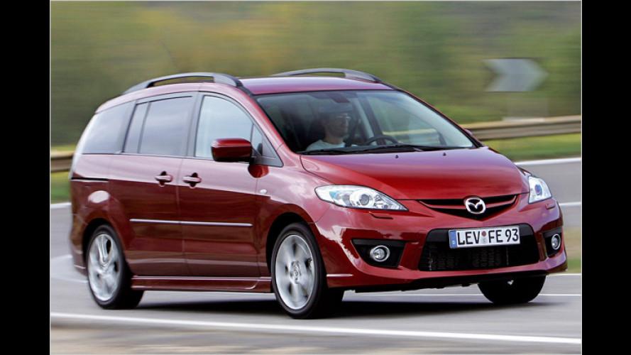 Mazda 5: Zwei Sondermodelle und erweiterte Ausstattung
