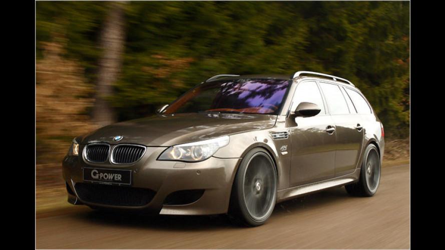 Schnellster Kombi: BMW M5 Touring mit Bi-Kompressor