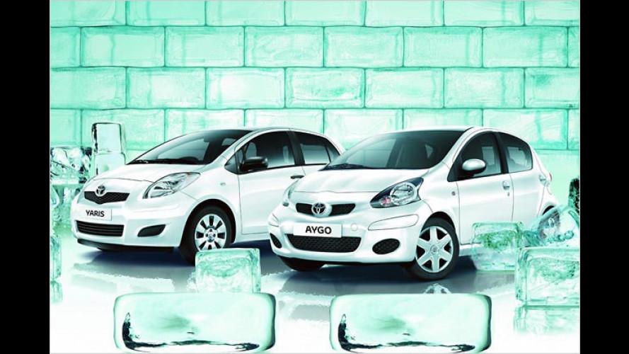 Toyota Aygo und Yaris Cool: Bis zu 3.250 Euro sparen