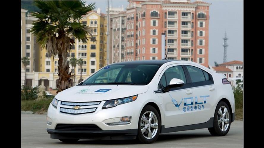 Erste Ausfahrt im Stromer: Der Chevrolet Volt im Test
