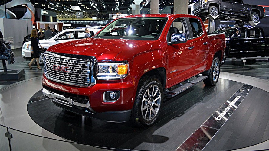 2017 GMC Canyon Denali unveiled as the first premium mid-size pickup