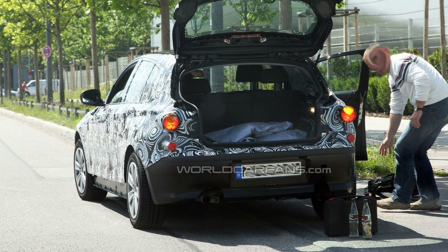 2011 BMW 1-Series spied up close