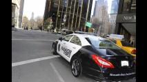 Corra que a polícia vem aí! Novo Mercedes CLS 63 AMG na patrulha de Nova York