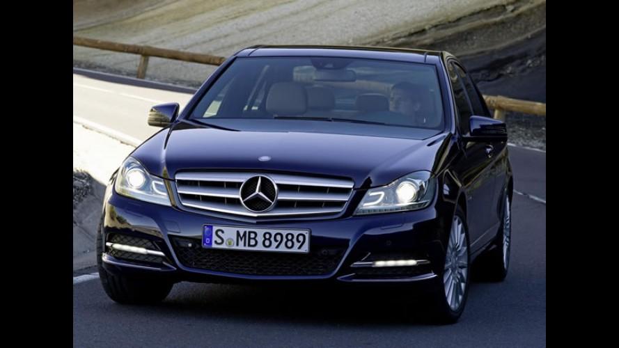 SEDÃS MÉDIOS PREMIUM, resultados de julho: Mercedes Classe C domina e Audi A4 avança