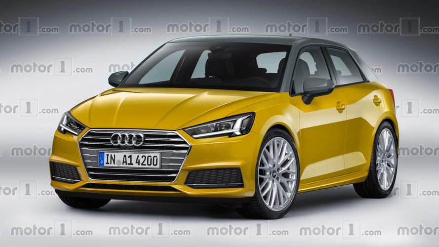 Söylentilere göre yapılan Audi A1 tasarım yorumu