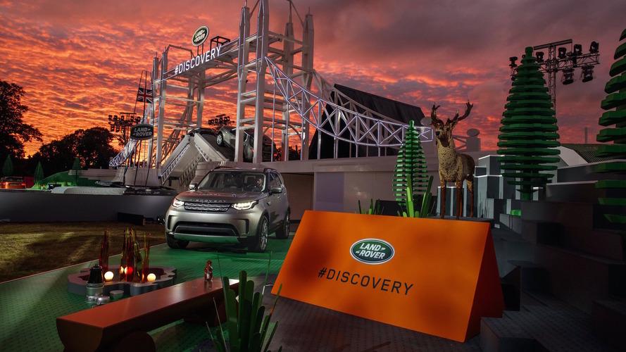 Land Rover Discovery dünyanın en büyük LEGO yapısında tanıtıldı