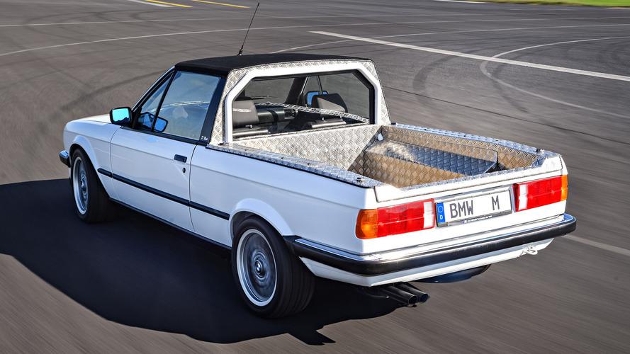 BMW, E30 ve E92 M3 pikaplarını, E36 M3 Compact'ı, E46 M3 Touring'i sergiledi