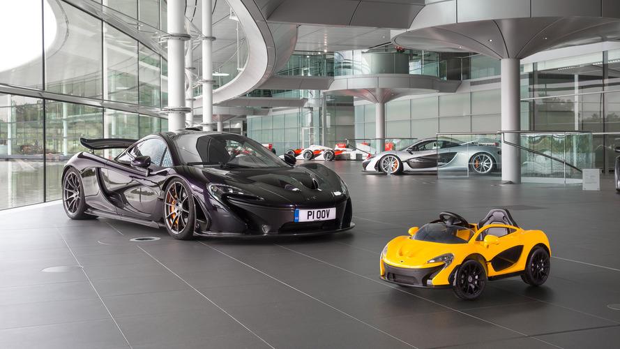 McLaren tamamen elektrikli P1'i tanıttı!.. ama çocuklar için