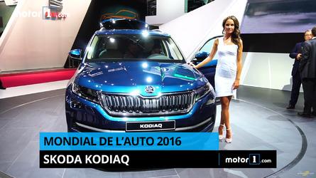 VIDÉO - Découvrez le nouveau Škoda Kodiaq au Mondial de Paris !