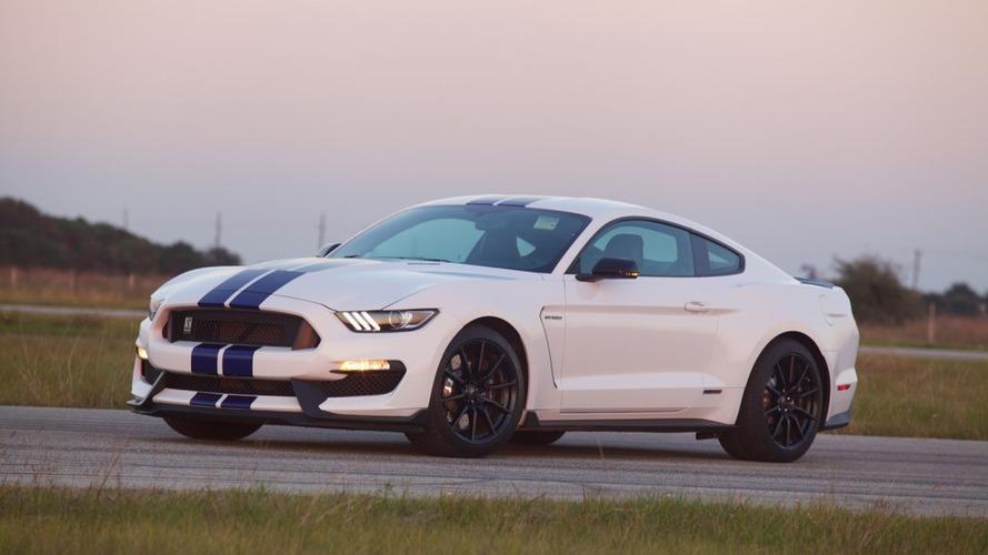 Hennessey'in 800 bg'lik Ford Mustang Shelby GT350'sinin dinamometre testi