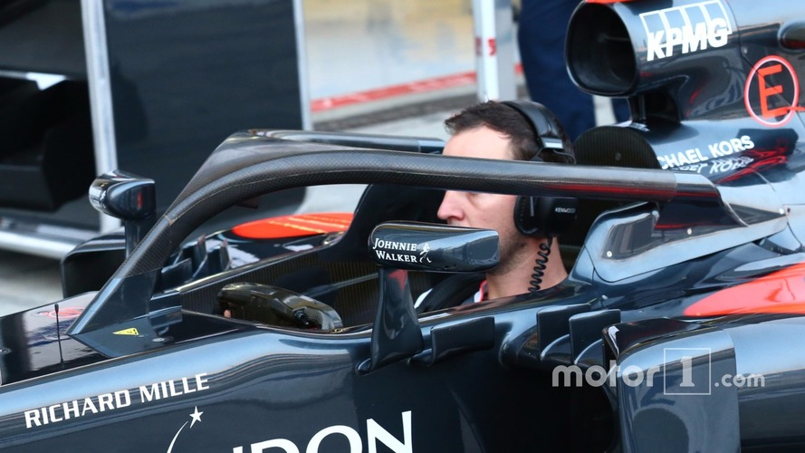 Alonso and Hamilton set for Halo tests