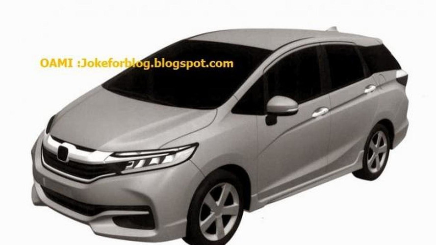 New Honda Fit/Jazz Shuttle leaked in patent drawings