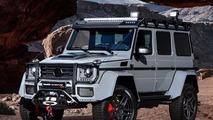 2017 Brabus 550 Adventure 4x4² based on the Mercedes G500 4x4²