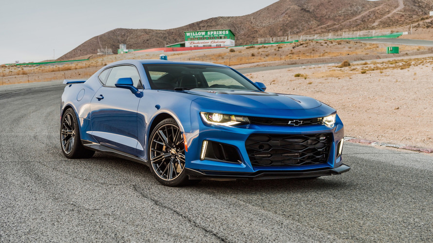 2017 Chevy Camaro ZL1 is just shy of 200 mph top speed
