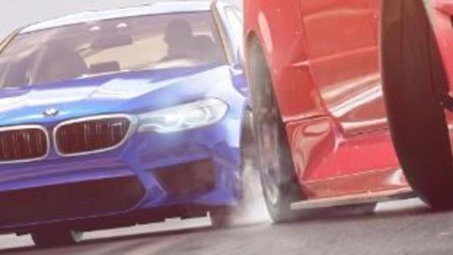 El BMW M5 2017 se deja ver en el videojuego Need for Speed Payback