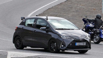 Five-door Toyota Yaris GRMN spy photo