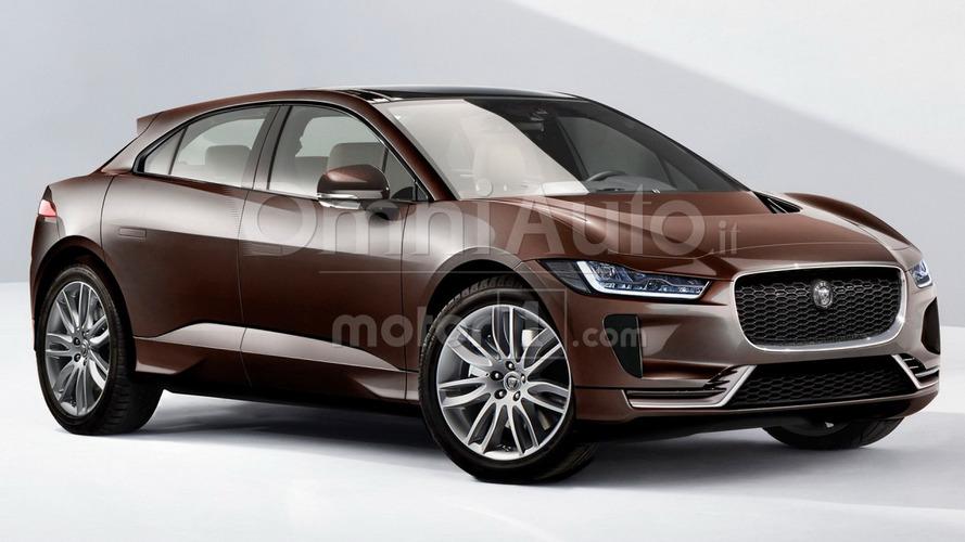 2018 Jaguar I-Pace tasarım yorumu gerçekçi duruyor
