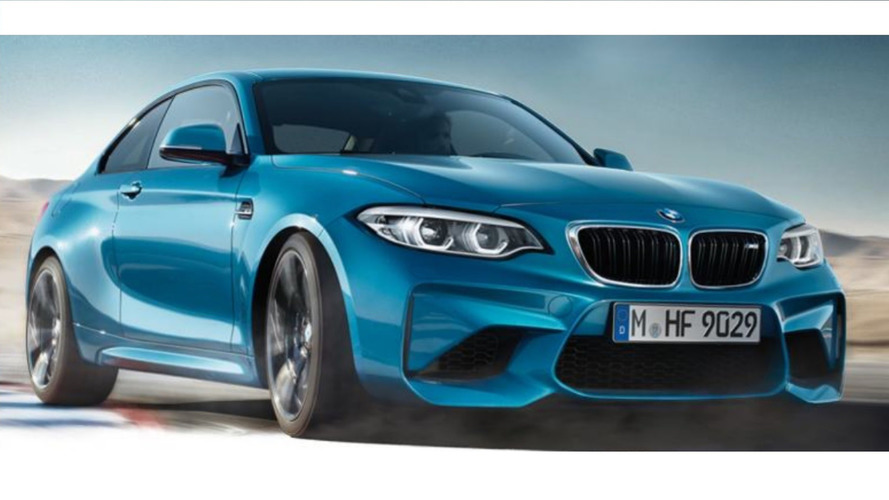 2018 BMW M2 Facelift Shows Up Unexpectedly