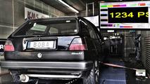1,200 horsepower VW Golf