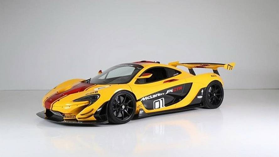 First McLaren P1 GTR built for sale