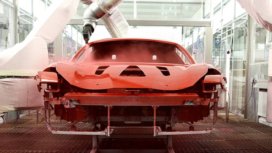 Ferrari Comes Up With New Low-Temperature Paint Technology