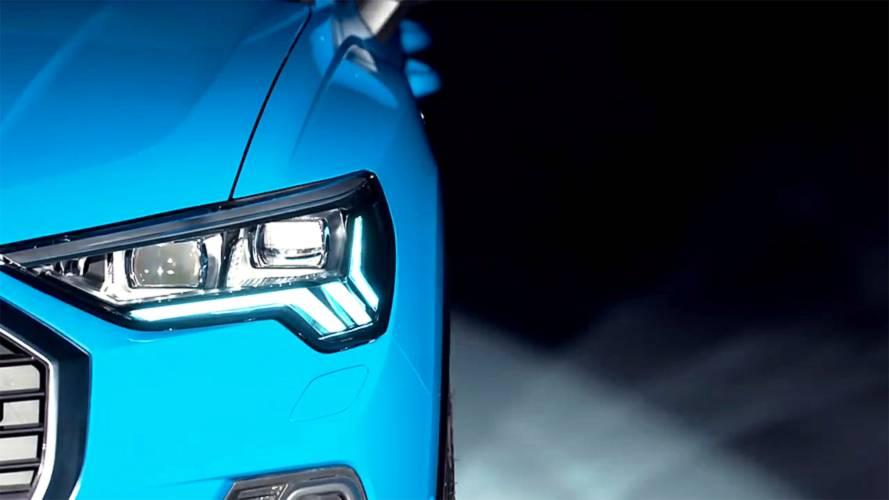 Nuova Audi Q3, video teaser in attesa del debutto del 25 luglio