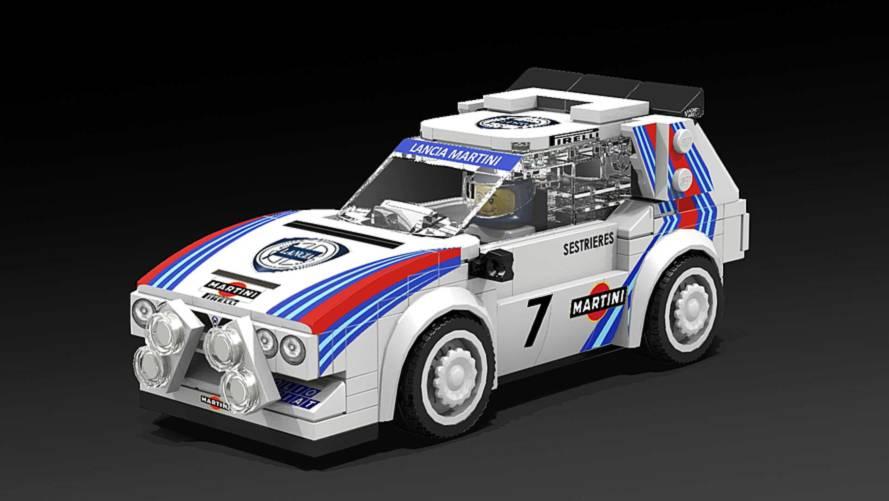 Lego, 15 modellini di auto dalla Aston Martin alla Peugeot 205 T16