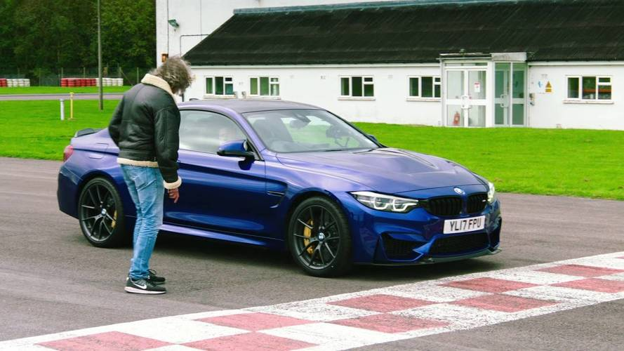 The Grand Tour Stunt Driver Candidate Drives It Like It's Stolen