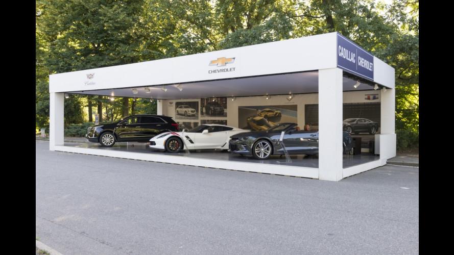 Corvette a Parco Valentino 2017