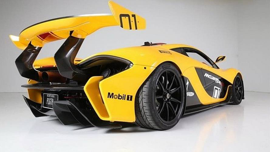 Road-legal McLaren P1 GTR