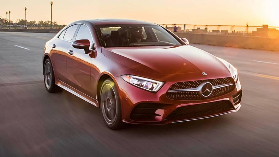 2019 mercedes benz cls class first drive still a trendsetter for Mercedes benz a class coupe