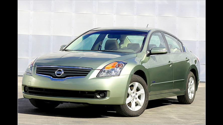 Nissan: Einstieg in die Hybridwelt mit Altima Hybrid