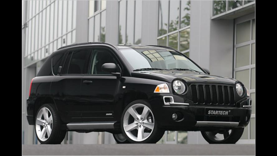 Jeep Compass erhält von Startech 40-PS-Spritze