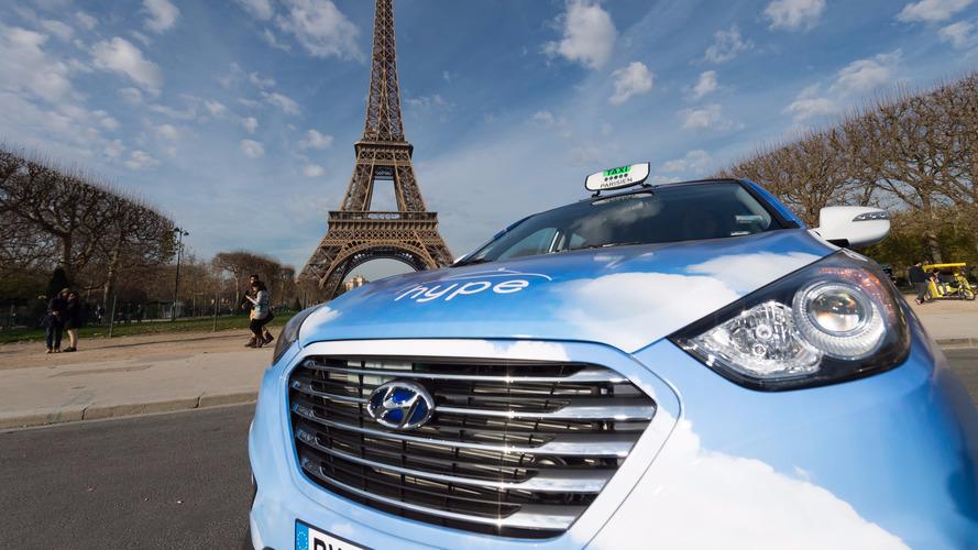 60 nouveaux taxis à hydrogène à Paris