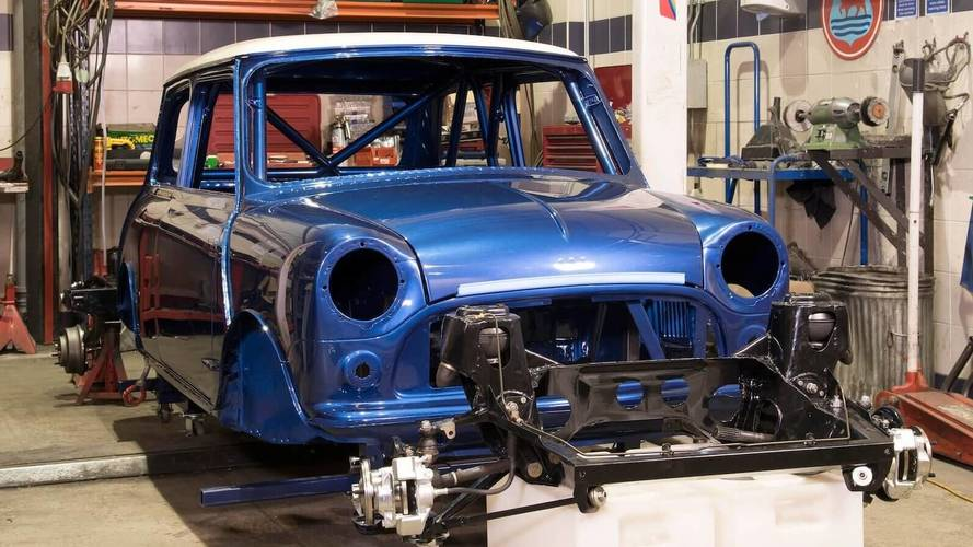 Coming Soon, New Competition-Spec Body Shells For Mk1 Mini