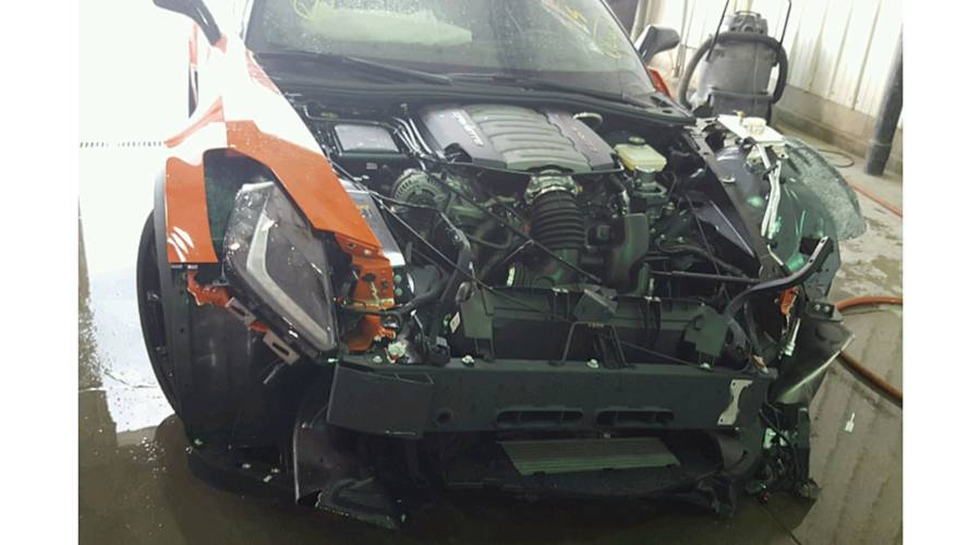 New 2019 Corvette Grand Sport Wrecked After Just 15 Miles