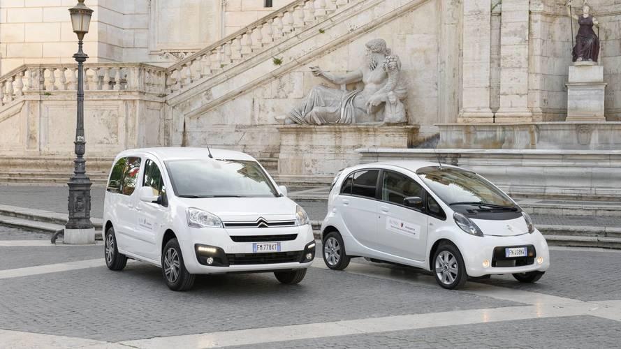 Citroen C-Zero e Berlingo Elettrico al Comune di Roma