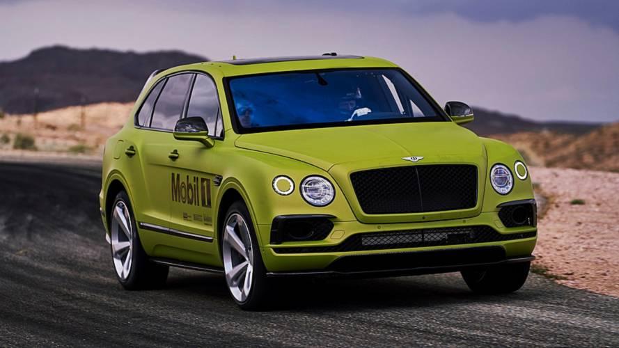 Bentley Bentayga, Pikes Peak SUV rekorunu kırdı