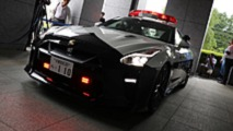 Nissan GT-R voiture de police au Japon