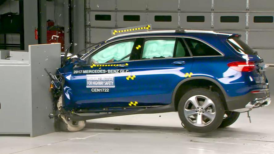 2017-2018 Mercedes-Benz GLC Rated IIHS Top Safety Pick+