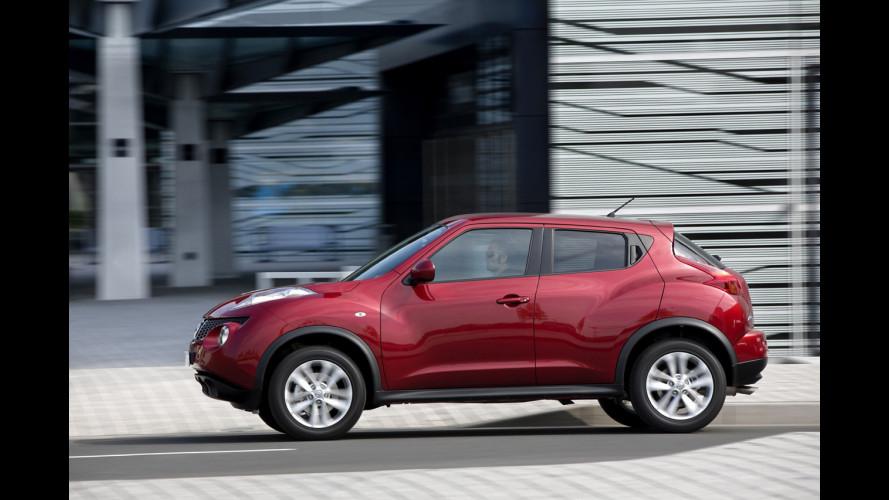 Nissan aggiorna i listini della Juke