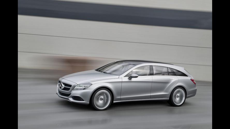 Mercedes CLS Shooting Brake: in vendita dal 2012