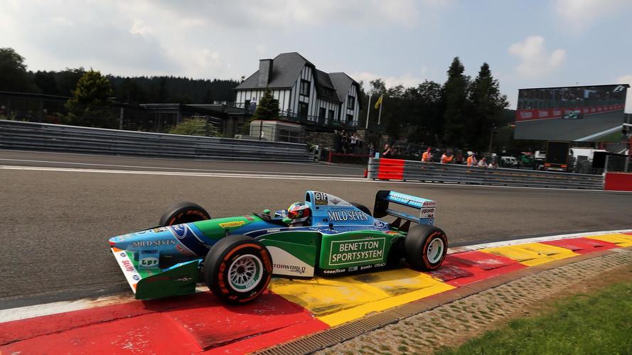 PHOTOS – Le fils de Michael Schumacher au volant de la Benetton F1 de 1994 de son père