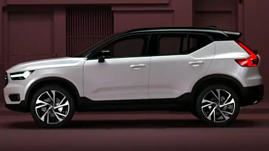 2018 Volvo XC40 Teaser Practically Hides Nothing