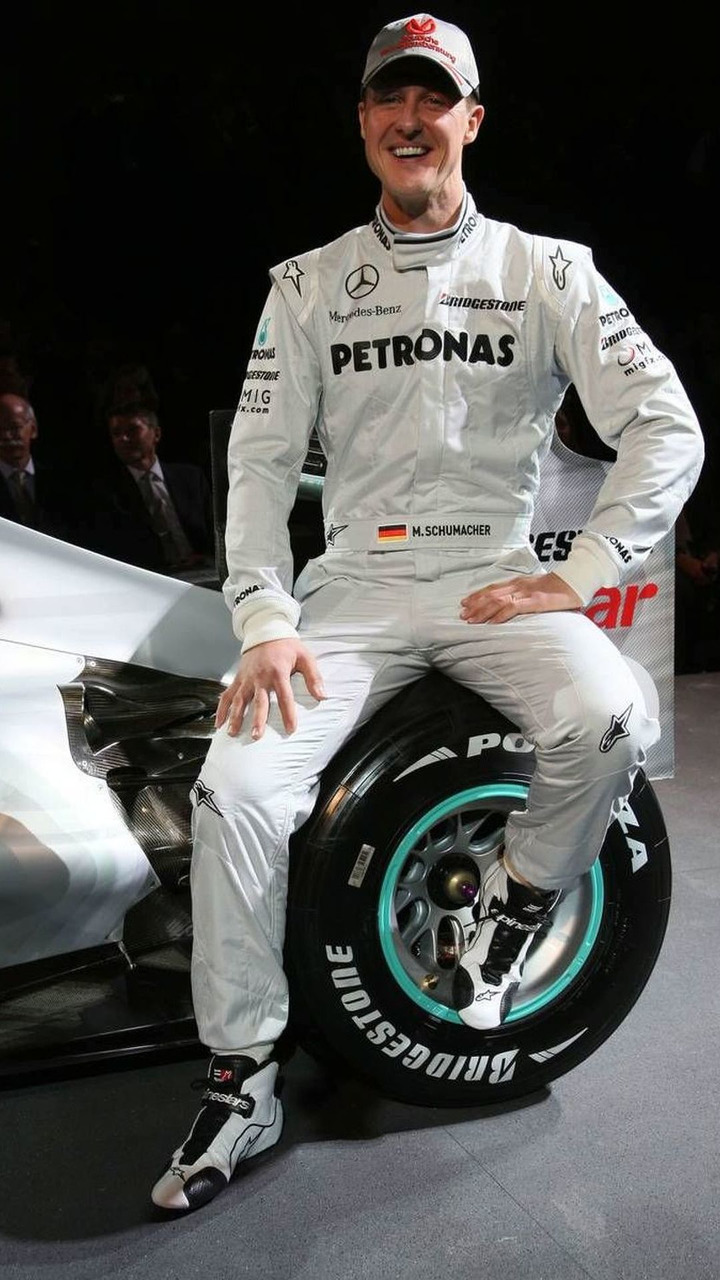 Michael Schumacher (GER), Mercedes GP Petronas F1 Team, Mercedes GP Presentation, 25.01.2010 Stuttgart, Germany