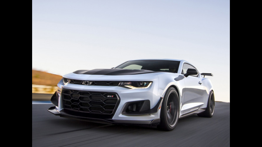 Chevrolet Camaro ZL1 1LE, record al Nurburgring [VIDEO]